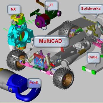 Thiết kế trong môi trường Multi CAD với PTC CReo 4.0