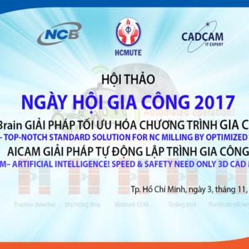 ngày hội gia công 2017 AICAM và NCBrain
