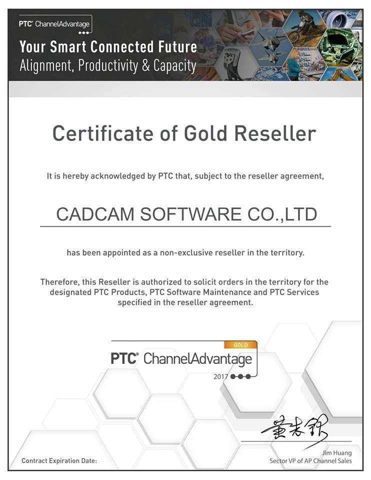 PTC reseller in Vietnam - Gold Partner CADCAM software