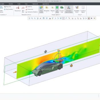 External Flow in Creo Simulation Live